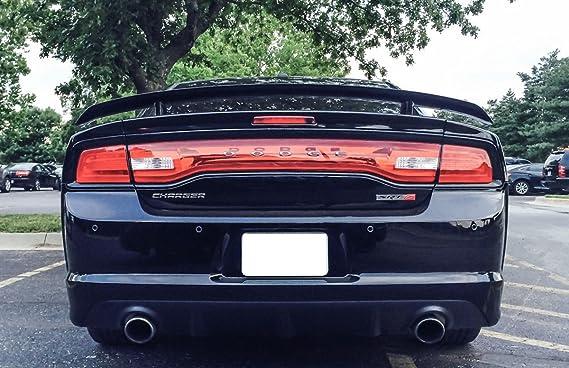 (1) cromo/rojo SRT-6 aleación metal insignia emblema para Dodge Charger Ram Challenger Chrysler 300 Crossfire, etc. tronco, rejilla o guardabarros: ...
