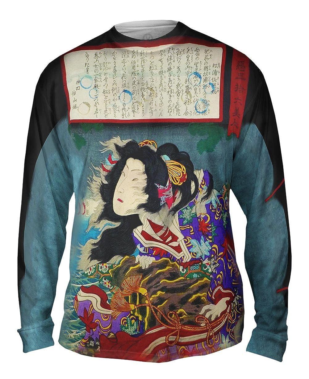 Good an Yizzam Japan Toyohara Kunichika Mens Long Sleeve 1767