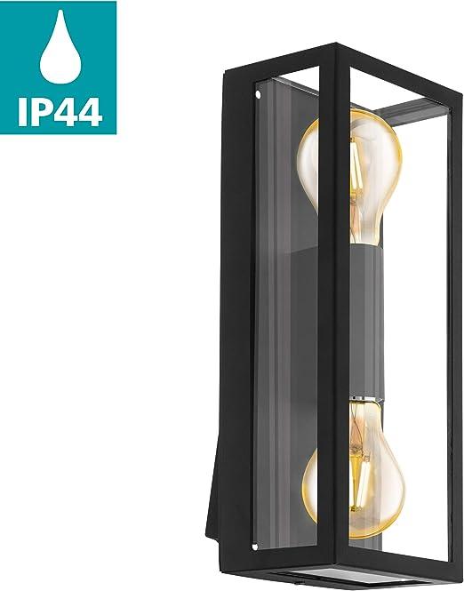 Wandlampe Aussenleuchte Aussenlampe Feuerverzinkt Glas