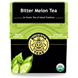 Organic Bitter Melon Tea 18 Bleach-Free Tea Bags