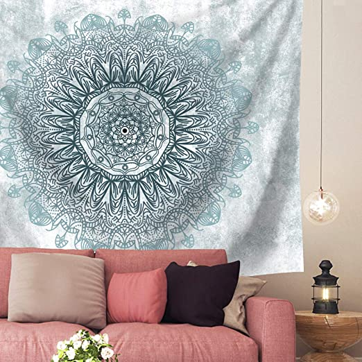 Psychedelic Marbled Road Tapestry Mandala Wall Hanging Art Tapestry Home Decor