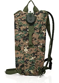 Red Jacket US Army 3L 3 Liter (100 ounce) Hydration Pack Bladder Water Bag