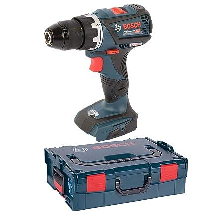 Bosch Profesional GSR 18V-60 C Atornillador a Batería Gama Dynamic, sin batería, 18 V, en L-BOXX, azul