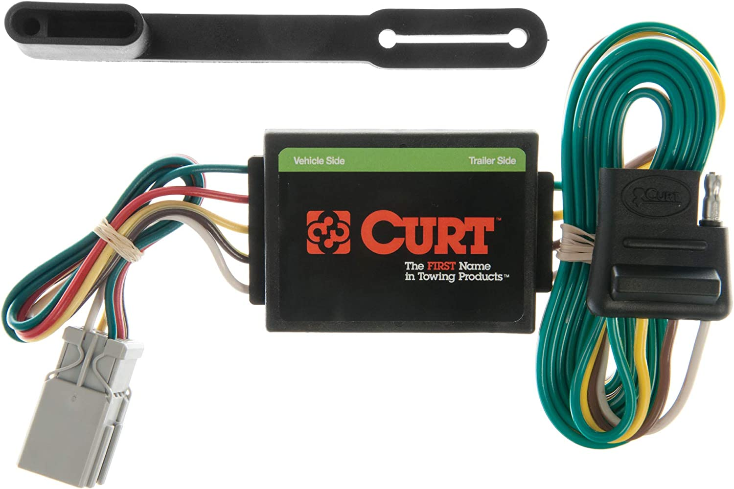 [NRIO_4796]   Amazon.com: CURT 55336 Vehicle-Side Custom 4-Pin Trailer Wiring Harness for  Select Honda, Acura, Isuzu Vehicles: Automotive | Curt 4 Wire Trailer Wiring Diagram |  | Amazon.com