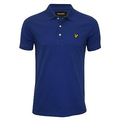 Lyle & Scott Classic Piqué Camisa De Polo De Los Hombres, Duke ...