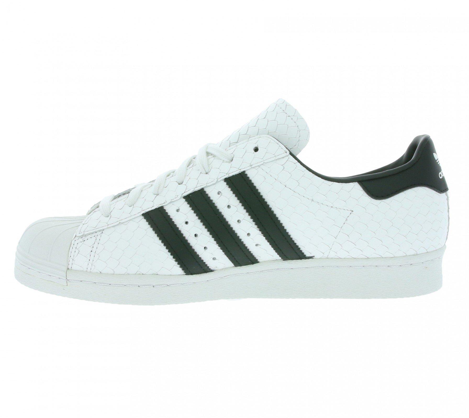 release date: aa37b d7eab ... Scarpe Da Ginnastica Adidas Originali Superstar Anni 80 Uomo Sneaker  Sneakers Bianche S75836, ...