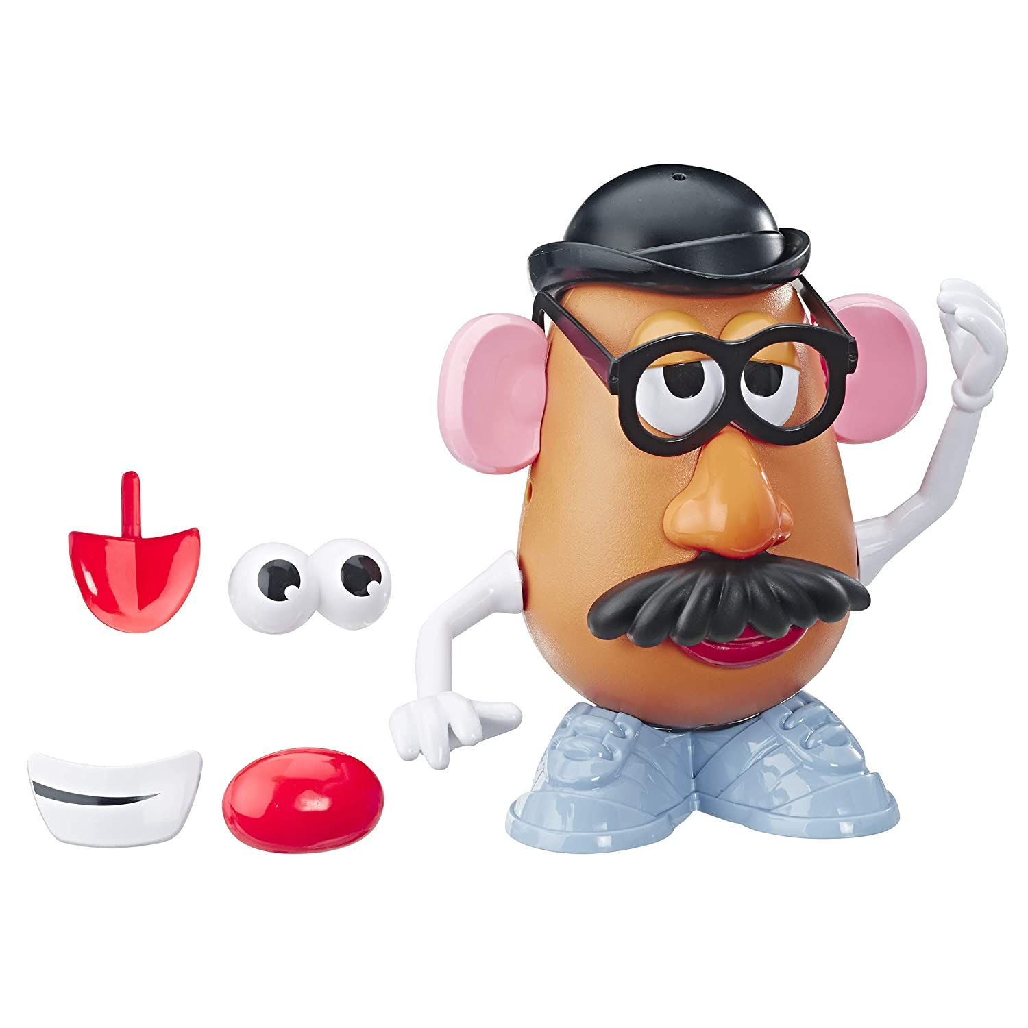 Mr. Potato Head Disney Pixar Toy Story 4 Classic Mr. Potato Head Figure Toy for Kids Ages 2 and Up
