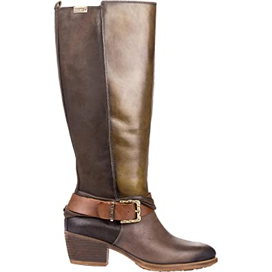 Pikolinos Baquiera Knee High Boot W9M-9604(Women's) -Seaweed/Seaweed Leather Footlocker For Sale Discount Find Great voDwd3BHka