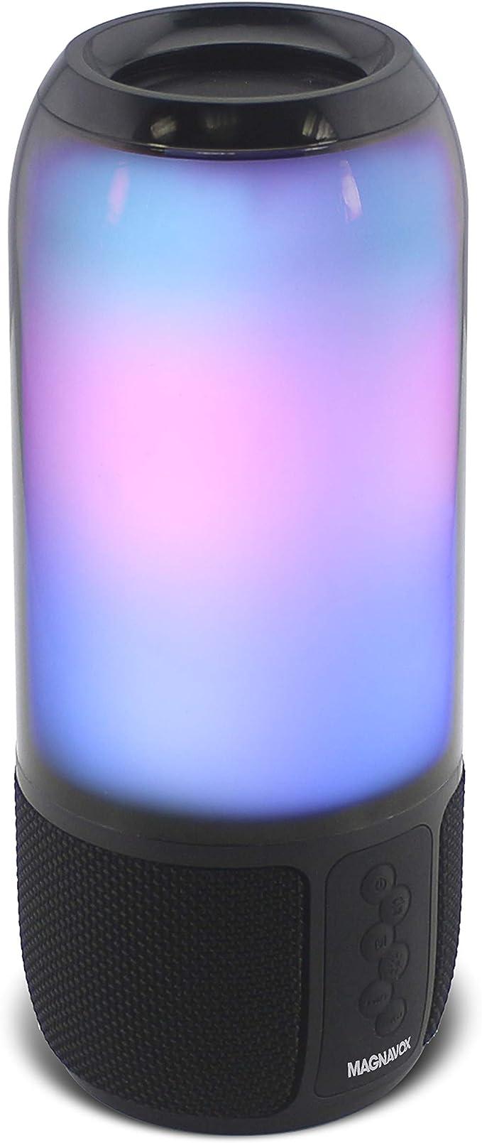 Craig Electronics Magnavox: Altavoz portátil estéreo con Luces Que cambian de Color y tecnología inalámbrica Bluetooth: Amazon.es: Electrónica
