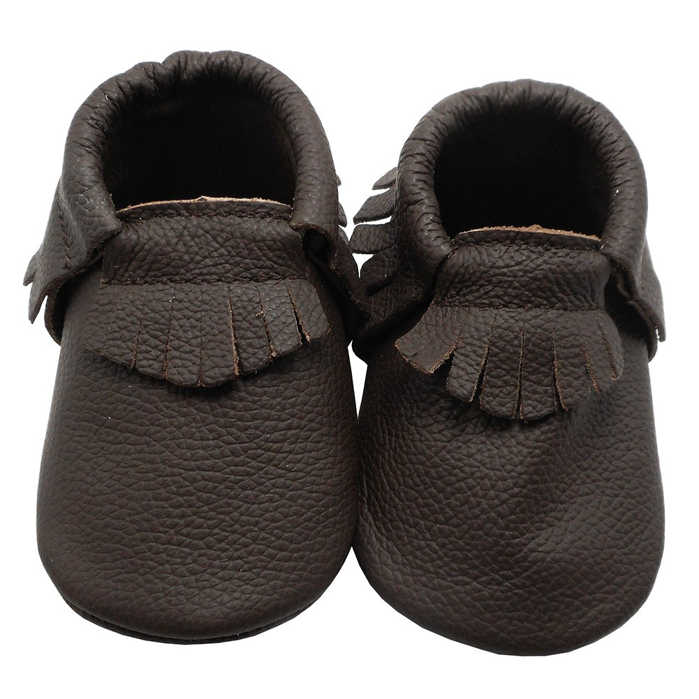 YIHAKIDS Infant Baby Moccasins Crawling Baby Shoes Multi-Color Tassels Toddler First Walker Slippers