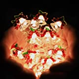 HuTools New Year Lights Decorations Jingle Bell