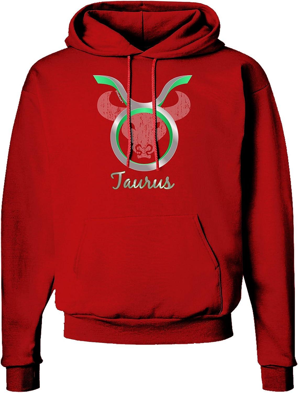 TooLoud Taurus Symbol Dark Hoodie Sweatshirt