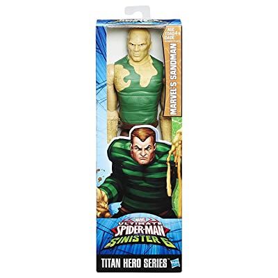 Hasbro B6388 Marvel Titan Hero Toy - Sandman 12 Inch Action Figure - Ultimate Spider-Man v Sinister 6: Toys & Games [5Bkhe1005019]
