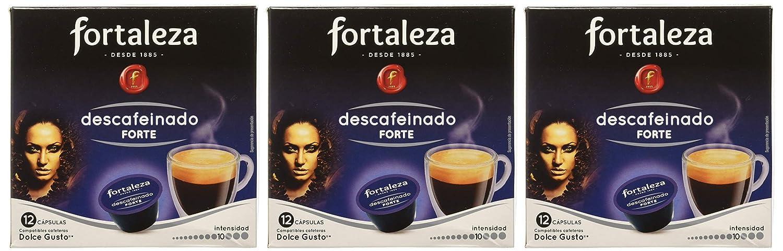 Café FORTALEZA - Cápsulas de Café Descafeinado Forte Compatibles ...