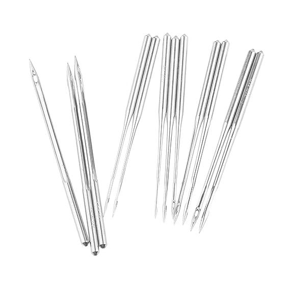 10 agujas DB1 para máquina de coser industrial para JUKI DDL-555 Singer Brother: Amazon.es: Juguetes y juegos