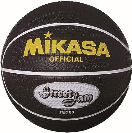 MIKASA TB700 Street Jam Baloncesto, Negro, 7: Amazon.es: Deportes ...