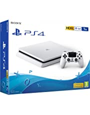PS4 Slim 1To Blanche PlayStation 4 - Console (1To, blanche, slim)