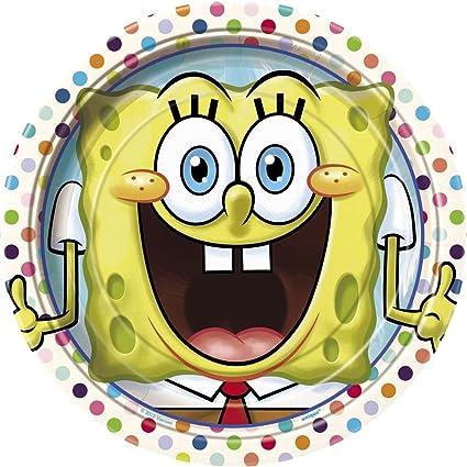 8ct Spongebob Squarepants Dessert Plates
