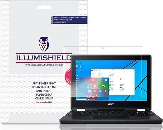 """iLLumiShield Screen Protector Anti-Bubble//Print 2x Amazon Fire 7/"""" {2015}"""