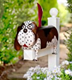 Wind & Weather Metal Beagle Dog Mailbox - 25.5 L