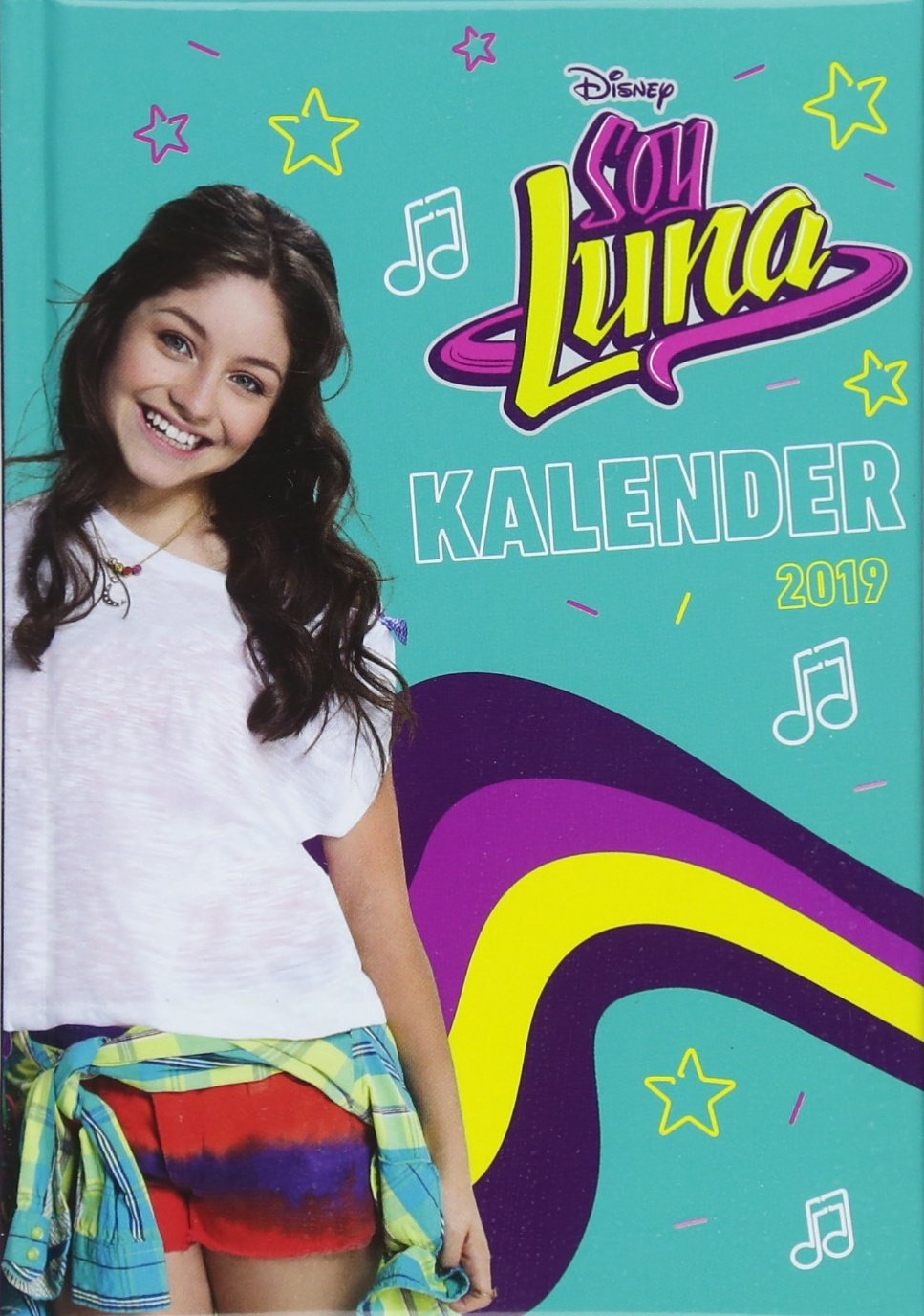 Soy Luna 17-Monats-Kalenderbuch A6 - Kalender 2019: 17 ...