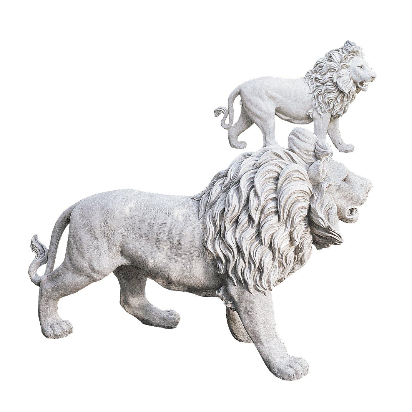 Design Toscano Regal Lion Sentinels of Grisham Manor St