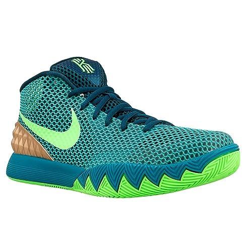 e7606f7c290a Nike Kyrie 1 Teal Green Emerald RED Men Sneaker 705277-333 (12. 5 ...