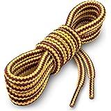 Miscly Cordones Redondos para Botas [3 Pares] Cordones Reforzados y Duraderos para Botas, Calzado de Seguridad y Zapatos…