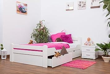 Bett 120x200 mit schubladen  Jugendbett