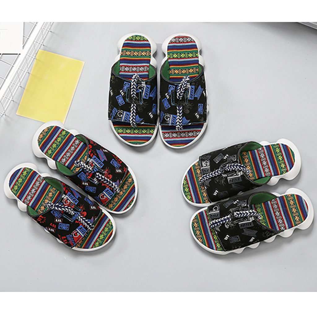 LI SHOP SHI XIANG SHOP LI Slippers Thick Bottom Slippers Summer Men's Beach Casual Sandals B07D5W85L7 Slippers 5710b0
