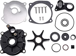 5001594 Water Pump Repair Kit with Housing for Johnson Evinrude V4 V6 V8 85-300HP Outboard Motor 1979-UP Replace Sierra 18-3392 434421