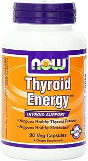 NOW Foods, Energía de la tiroides, ayuda de la tiroides, 90 sombreros del