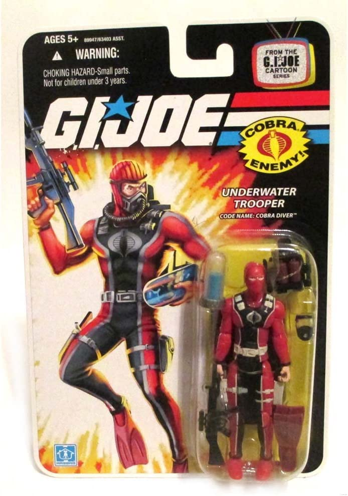 G. I. Joe Action Figura de buceador bajo el agua Cobra: Amazon.es ...
