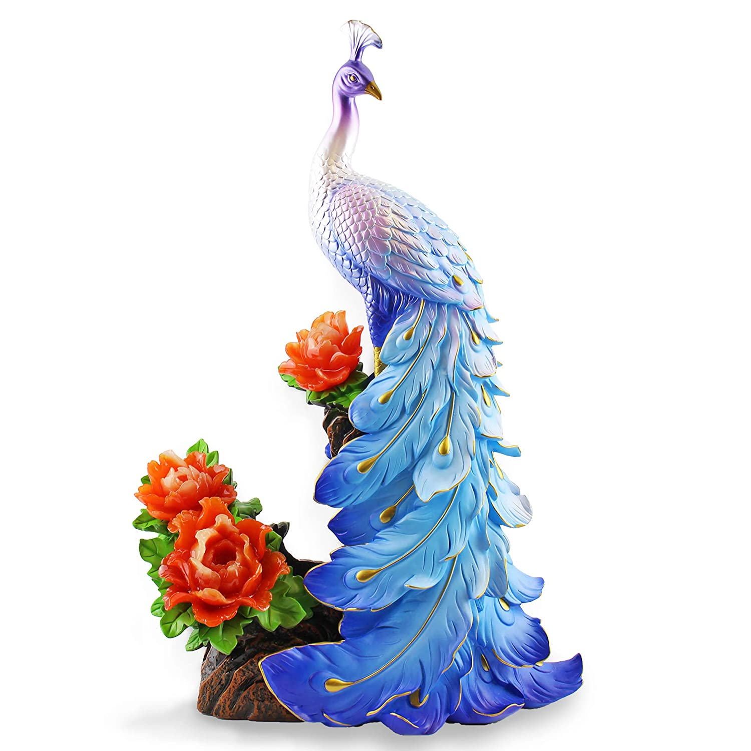 high end home decor.htm elegant polyresin peacock design wine bottle holder home decor  elegant polyresin peacock design wine