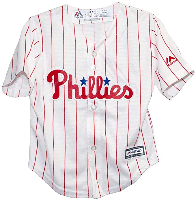 Amazon.com   Philadelphia Phillies 2015 Home Cool Base Infant Jersey (24  months)   Sports   Outdoors ba549e585c7