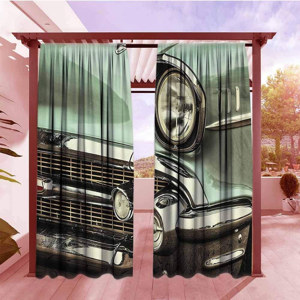 AndyTours panel de cortina de bolsillo para barra de exterior de 1950, colección de decoración de autos, póster retro y citas de taller de transporte mecánico que podemos arreglar cualquier cosa, diseño