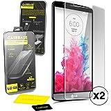 Casebase Premium Gehärtetem Glas Displayschutzfolien Doppelpack für LG G3