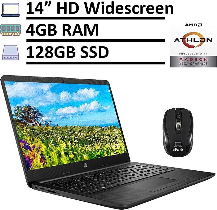 2020 Latest HP Notebook 14 Sleek Laptop Computer, 14