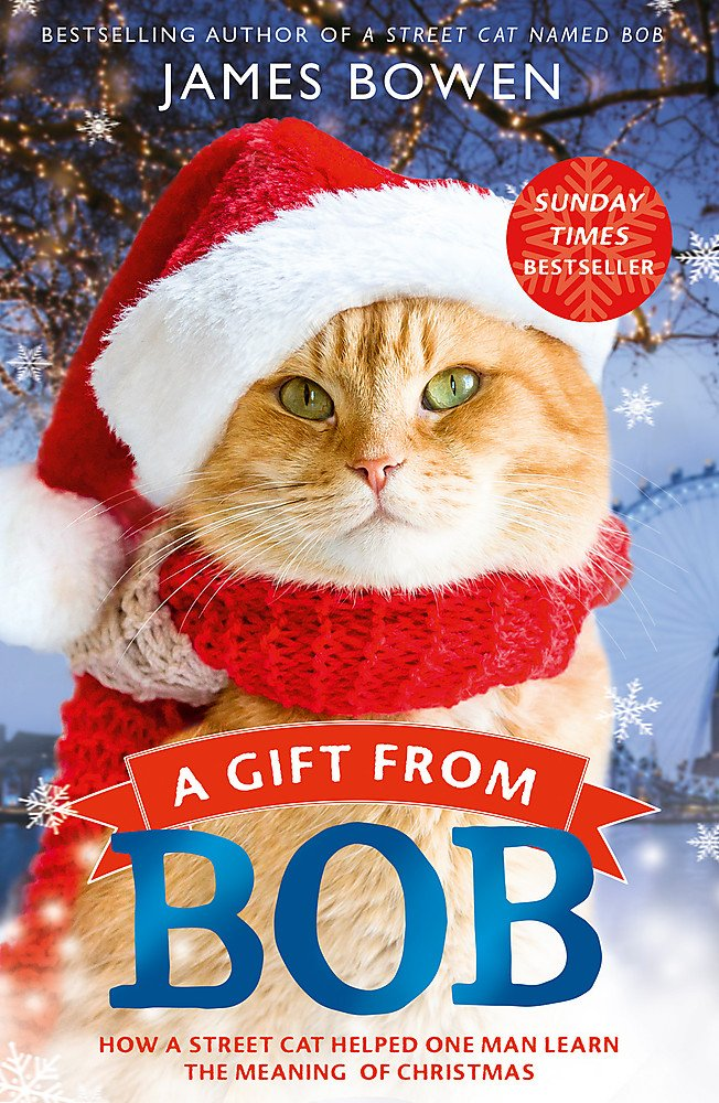 Download A Gift from Bob: How a Street Cat Helped One Man Learn the Meaning of Christmas ebook