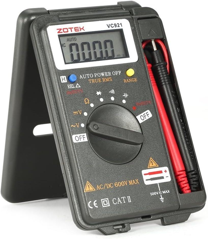 Zotek Vc921 4000 Zählt Lcd Digital Multimeter Tasche Auto Bereich Dc Ac Spannung Ohm Kapazität Diode Durchgang Meter Tester Baumarkt