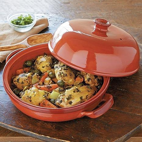 Andrew Zimmern mundial fuente para horno esmaltada Tajín de ...