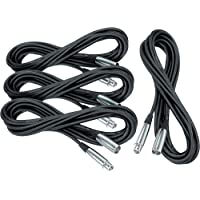 Deals on 4-Pack Musicians Gear Lo-Z Mic Cable 20ft