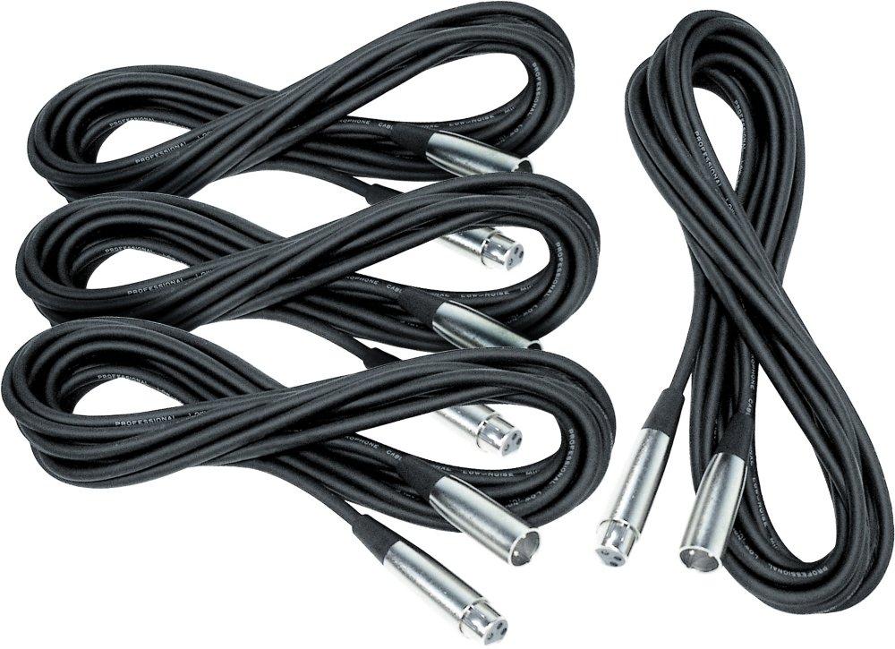 お歳暮 Musician 's Gear lo-zマイクケーブル20 ' 4 Gear 's -パック KIT ブラック XC-20 4-Pack KIT ブラック B0064RT2M0, やさしさON-LINE:0495c803 --- aemmontagens.com.br