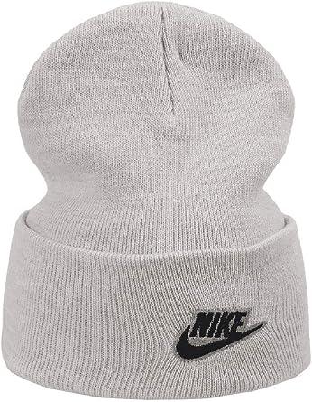 Nike Cuff Utility - Gorro de Invierno Gris Talla única: Amazon.es ...