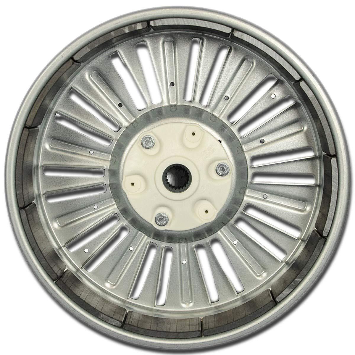 LG 4413ER1003A Rotor Assembly Washing Machine - silver