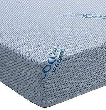 Colchón de Espuma con Efecto Reflex, visco Terapia Regular, Comodidad con un Transpirable,