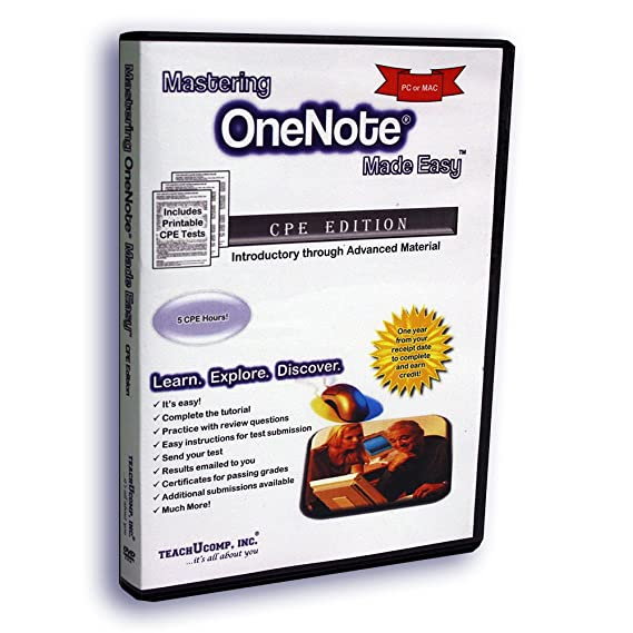Amazon com: Learn OneNote (One Note) Made Easy Video Training