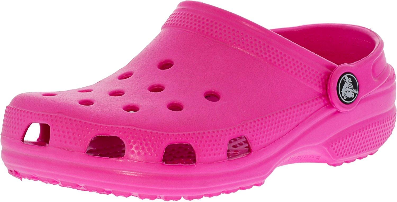 crocs Unisex-Kinder Classic Kids Clogs Pink (Neon Magenta)