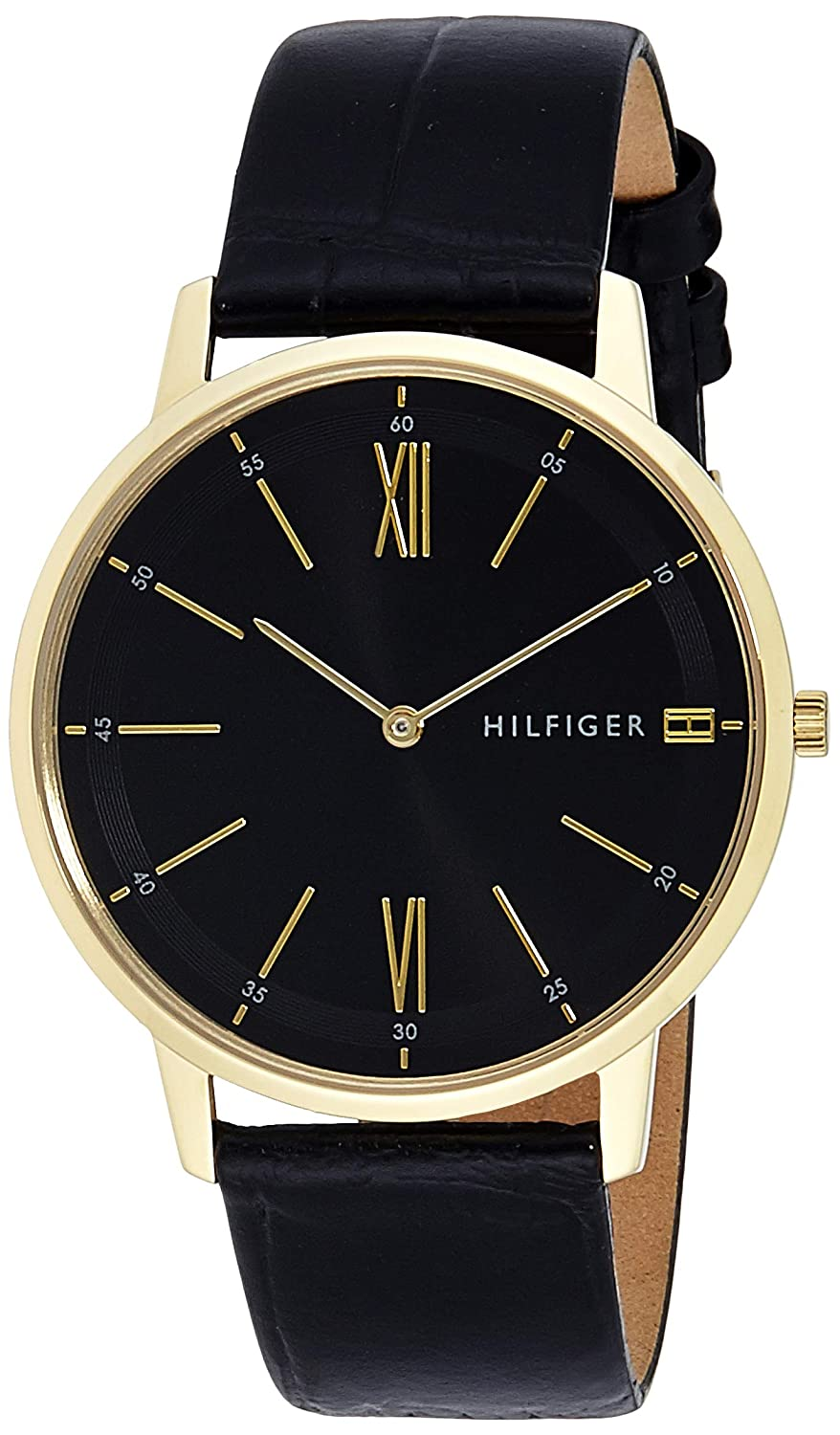 bbd5562d6 Buy Tommy Hilfiger Analog Black Dial Men's Watch - TH1791517 Online at Low  Prices in India - Amazon.in