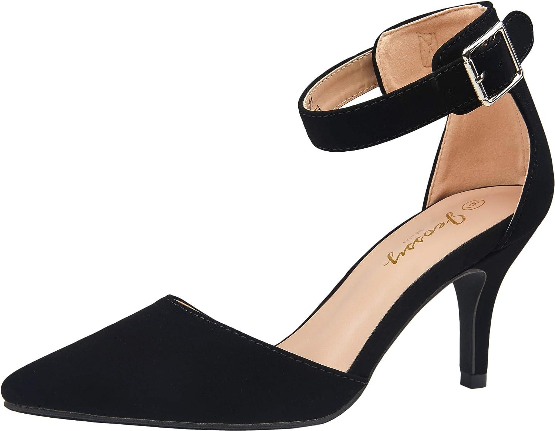 VEPOSE Women's Low Heels Dress Pumps 3